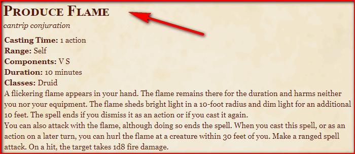 Produce Flame 5e