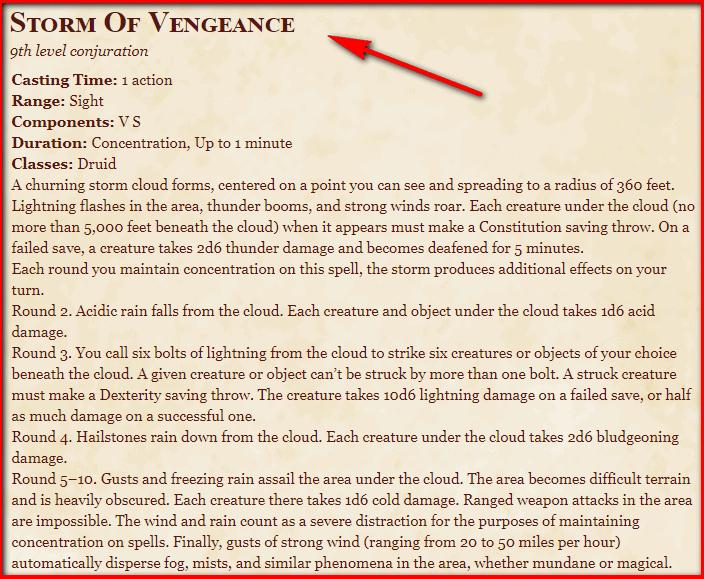 Storm of Vengeance 5e