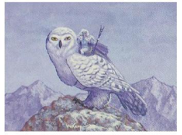 Giant Owl Monster