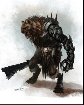 Gnoll Monster
